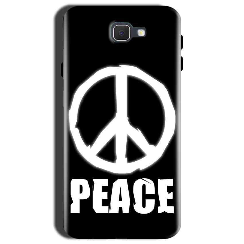Samsung Galaxy C9 Pro Mobile Covers Cases Peace Sign In White - Lowest Price - Paybydaddy.com