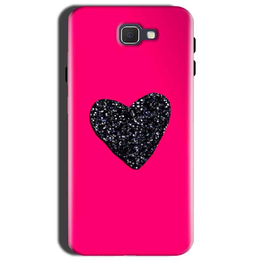 Samsung Galaxy C9 Pro Mobile Covers Cases Pink Glitter Heart - Lowest Price - Paybydaddy.com