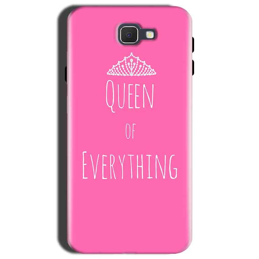 Samsung Galaxy C9 Pro Mobile Covers Cases Queen Of Everything Pink White - Lowest Price - Paybydaddy.com