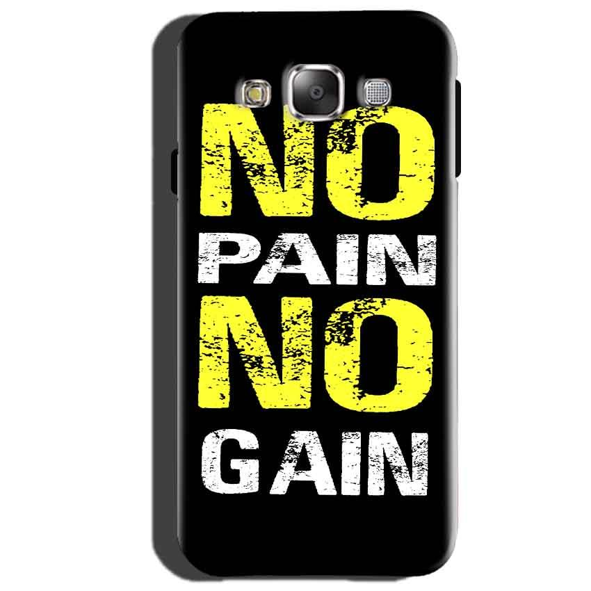 Samsung Galaxy Core Prime Mobile Covers Cases No Pain No Gain Yellow Black - Lowest Price - Paybydaddy.com