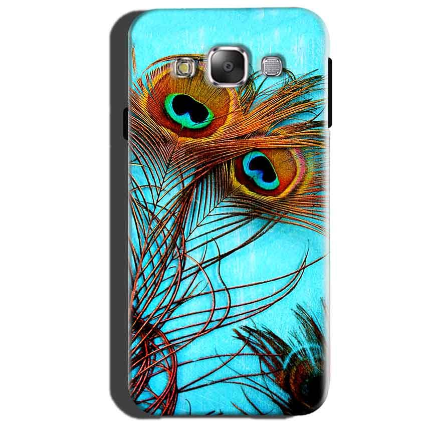 Samsung Galaxy Core Prime Mobile Covers Cases Peacock blue wings - Lowest Price - Paybydaddy.com