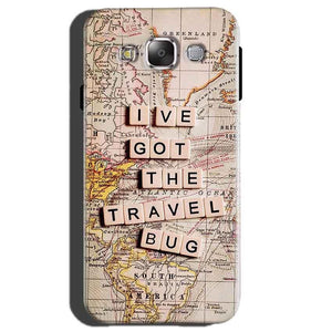 Samsung Galaxy E5 Mobile Covers Cases Live Travel Bug - Lowest Price - Paybydaddy.com
