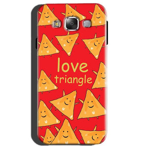 Samsung Galaxy E5 Mobile Covers Cases Love Triangle - Lowest Price - Paybydaddy.com