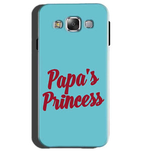 Samsung Galaxy E5 Mobile Covers Cases Papas Princess - Lowest Price - Paybydaddy.com