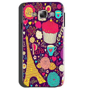 Samsung Galaxy E5 Mobile Covers Cases Paris Sweet love - Lowest Price - Paybydaddy.com