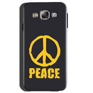 Samsung Galaxy E5 Mobile Covers Cases Peace Blue Yellow - Lowest Price - Paybydaddy.com