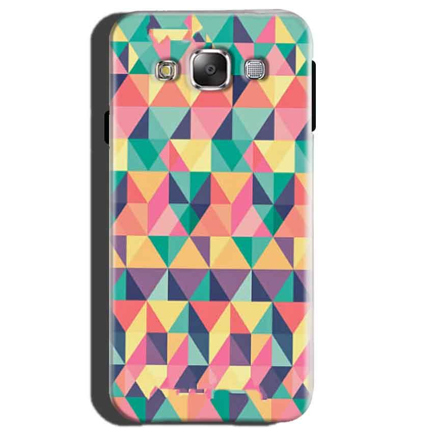 Samsung Galaxy E5 Mobile Covers Cases Prisma coloured design - Lowest Price - Paybydaddy.com