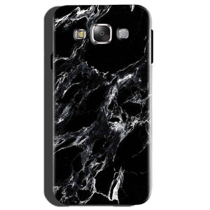 Samsung Galaxy E5 Mobile Covers Cases Pure Black Marble Texture - Lowest Price - Paybydaddy.com