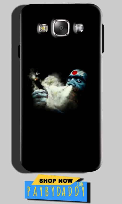 Samsung Galaxy E5 Mobile Covers Cases Shiva Aghori Smoking - Lowest Price - Paybydaddy.com