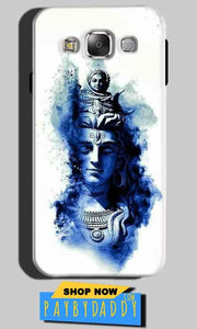 Samsung Galaxy E5 Mobile Covers Cases Shiva Blue White - Lowest Price - Paybydaddy.com