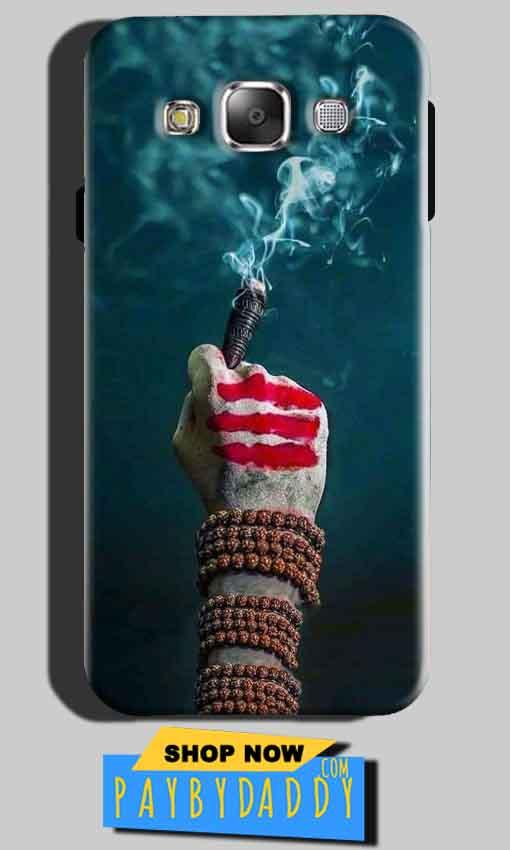 Samsung Galaxy E5 Mobile Covers Cases Shiva Hand With Clilam - Lowest Price - Paybydaddy.com
