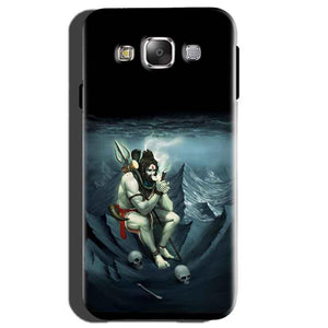 Samsung Galaxy E5 Mobile Covers Cases Shiva Smoking - Lowest Price - Paybydaddy.com