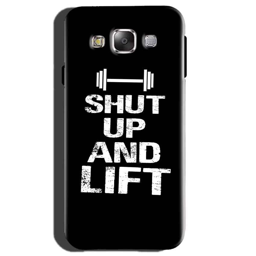 Samsung Galaxy E5 Mobile Covers Cases Shut Up And Lift - Lowest Price - Paybydaddy.com