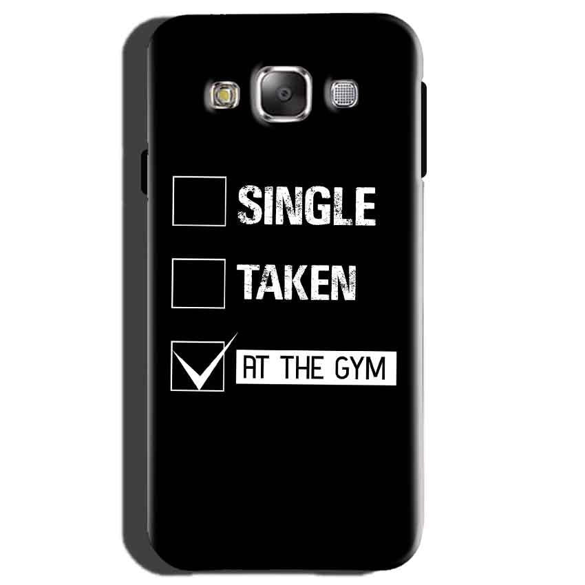 Samsung Galaxy E5 Mobile Covers Cases Single Taken At The Gym - Lowest Price - Paybydaddy.com