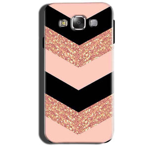 Samsung Galaxy Grand 3 G7200 Mobile Covers Cases Black down arrow Pattern - Lowest Price - Paybydaddy.com