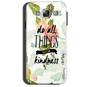Samsung Galaxy Grand 3 G7200 Mobile Covers Cases Do all things with kindness - Lowest Price - Paybydaddy.com