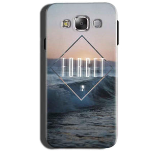 Samsung Galaxy Grand 3 G7200 Mobile Covers Cases Forget Quote Something Different - Lowest Price - Paybydaddy.com