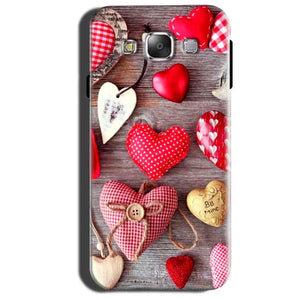 Samsung Galaxy Grand 3 G7200 Mobile Covers Cases Hearts- Lowest Price - Paybydaddy.com