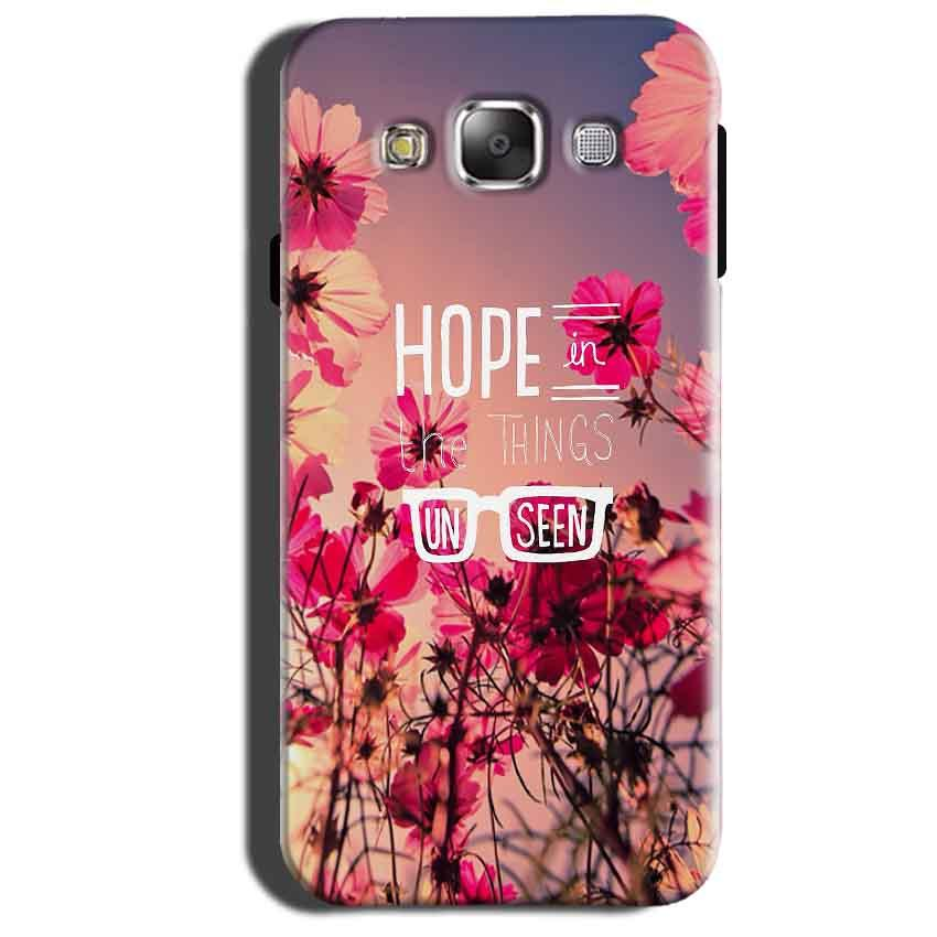 Samsung Galaxy Grand 3 G7200 Mobile Covers Cases Hope in the Things Unseen- Lowest Price - Paybydaddy.com