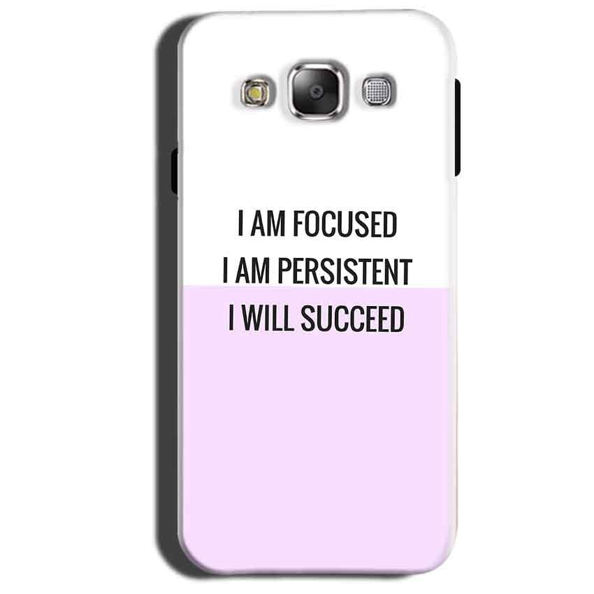 Samsung Galaxy Grand 3 G7200 Mobile Covers Cases I am Focused - Lowest Price - Paybydaddy.com
