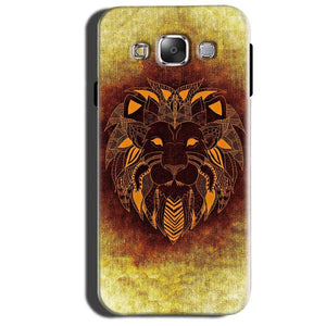 Samsung Galaxy Grand 3 G7200 Mobile Covers Cases Lion face art - Lowest Price - Paybydaddy.com