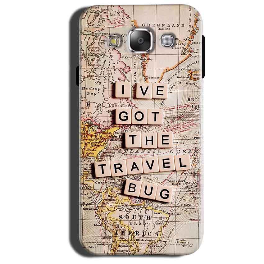 Samsung Galaxy Grand 3 G7200 Mobile Covers Cases Live Travel Bug - Lowest Price - Paybydaddy.com