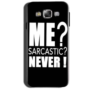 Samsung Galaxy Grand 3 G7200 Mobile Covers Cases Me sarcastic - Lowest Price - Paybydaddy.com