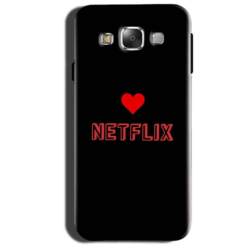 Samsung Galaxy Grand 3 G7200 Mobile Covers Cases NETFLIX WITH HEART - Lowest Price - Paybydaddy.com