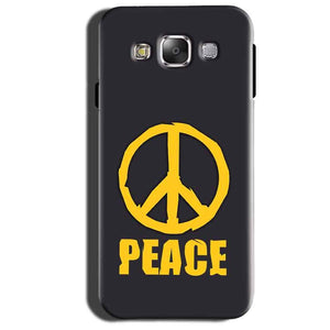 Samsung Galaxy Grand 3 G7200 Mobile Covers Cases Peace Blue Yellow - Lowest Price - Paybydaddy.com