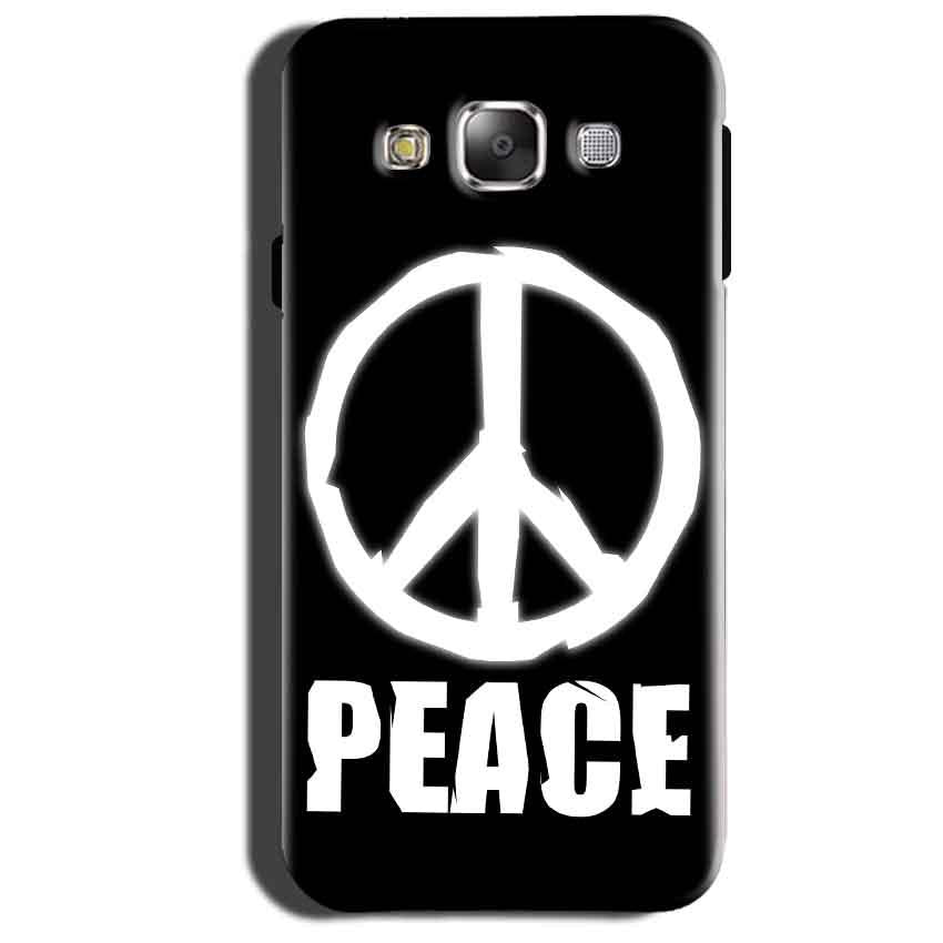 Samsung Galaxy Grand 3 G7200 Mobile Covers Cases Peace Sign In White - Lowest Price - Paybydaddy.com