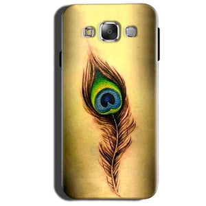 Samsung Galaxy Grand 3 G7200 Mobile Covers Cases Peacock coloured art - Lowest Price - Paybydaddy.com