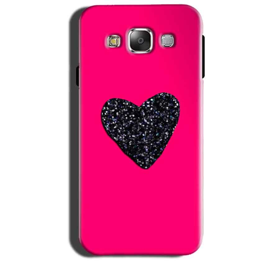 Samsung Galaxy Grand 3 G7200 Mobile Covers Cases Pink Glitter Heart - Lowest Price - Paybydaddy.com