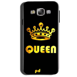 Samsung Galaxy Grand 3 G7200 Mobile Covers Cases Queen With Crown in gold - Lowest Price - Paybydaddy.com