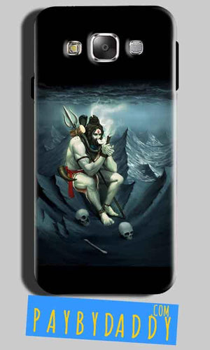 Samsung Galaxy Grand 3 G7200 Mobile Covers Cases Shiva Smoking - Lowest Price - Paybydaddy.com