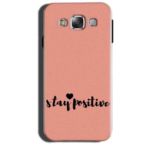 Samsung Galaxy Grand 3 G7200 Mobile Covers Cases Stay Positive - Lowest Price - Paybydaddy.com