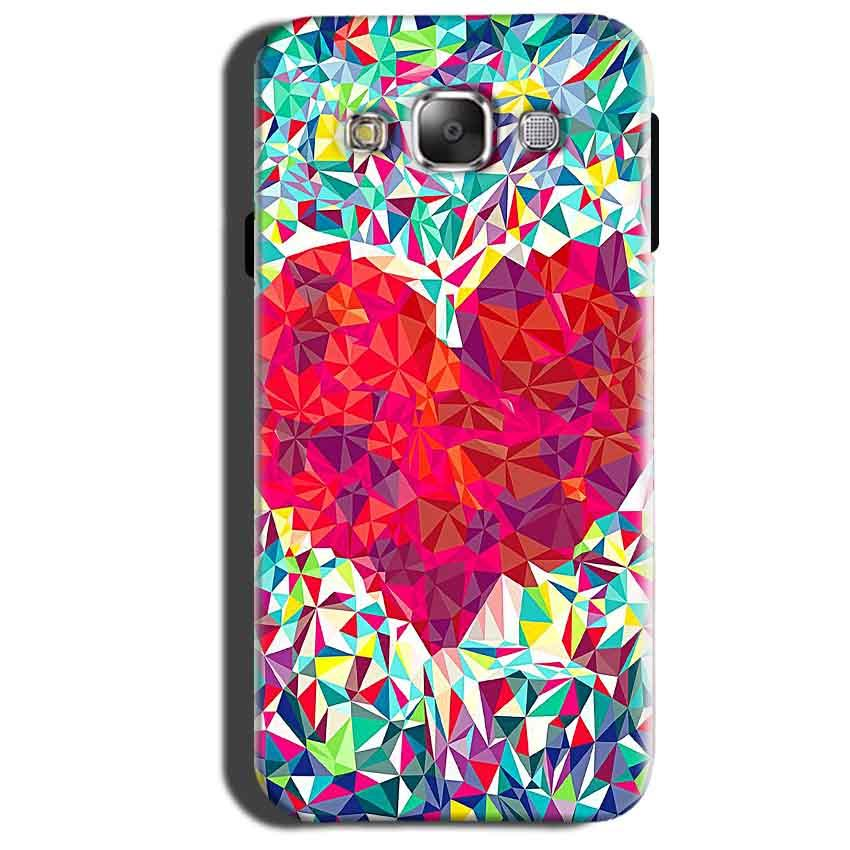 Samsung Galaxy Grand 3 G7200 Mobile Covers Cases heart Prisma design - Lowest Price - Paybydaddy.com
