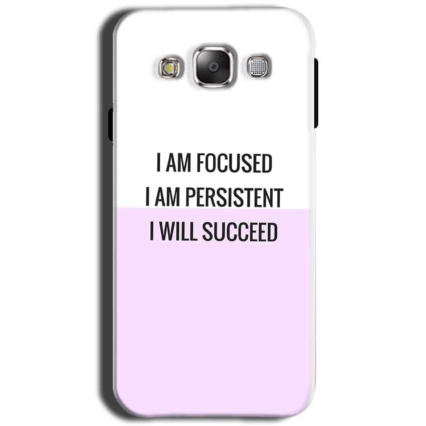 Samsung Galaxy Grand I9082 i9080 Mobile Covers Cases I am Focused - Lowest Price - Paybydaddy.com