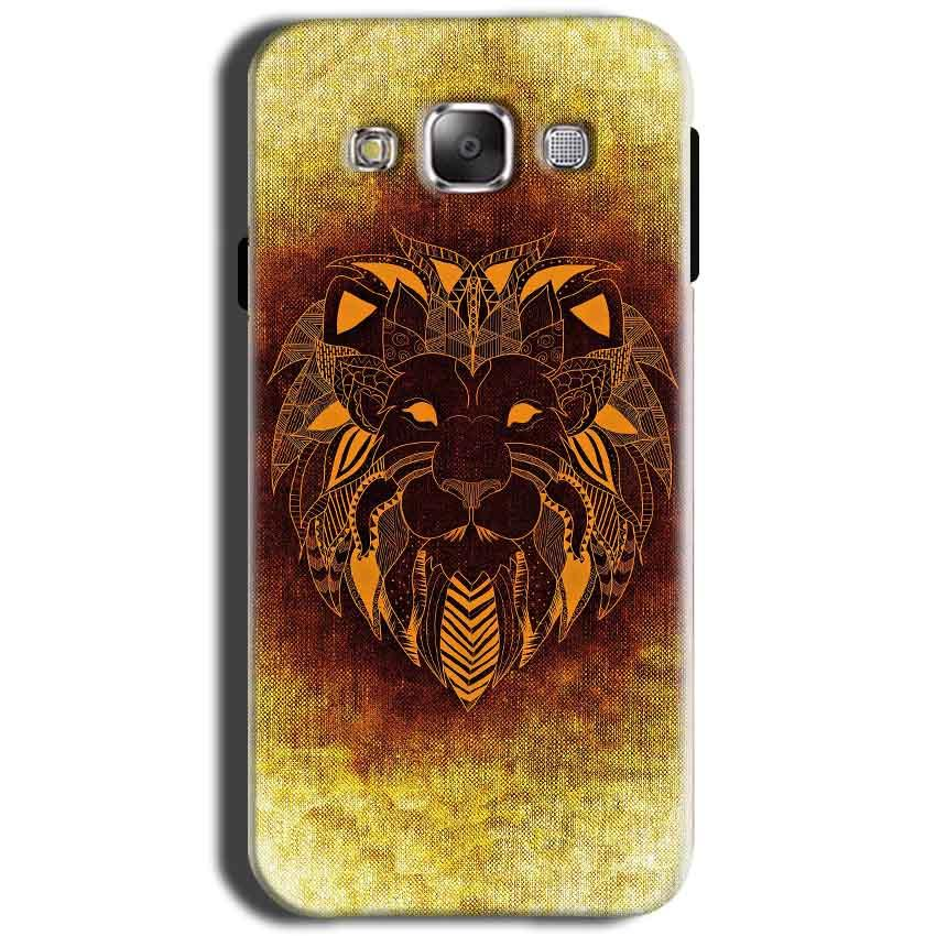 Samsung Galaxy Grand I9082 i9080 Mobile Covers Cases Lion face art - Lowest Price - Paybydaddy.com