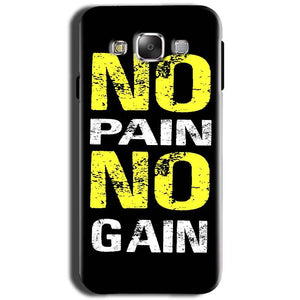 Samsung Galaxy Grand I9082 i9080 Mobile Covers Cases No Pain No Gain Yellow Black - Lowest Price - Paybydaddy.com