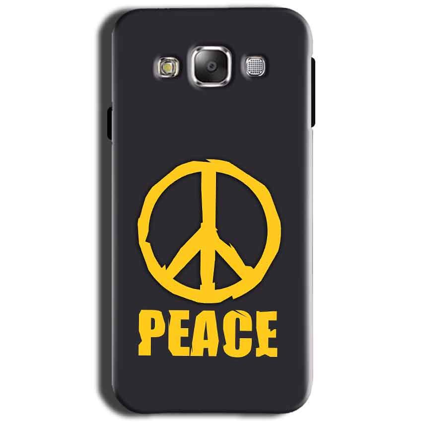 Samsung Galaxy Grand I9082 i9080 Mobile Covers Cases Peace Blue Yellow - Lowest Price - Paybydaddy.com