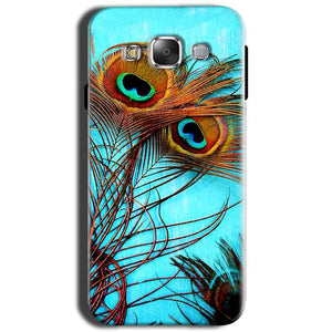 Samsung Galaxy Grand I9082 i9080 Mobile Covers Cases Peacock blue wings - Lowest Price - Paybydaddy.com