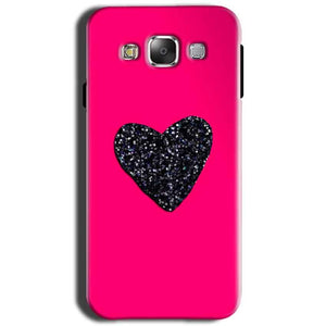 Samsung Galaxy Grand I9082 i9080 Mobile Covers Cases Pink Glitter Heart - Lowest Price - Paybydaddy.com