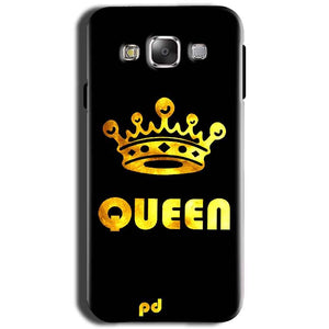 Samsung Galaxy Grand I9082 i9080 Mobile Covers Cases Queen With Crown in gold - Lowest Price - Paybydaddy.com