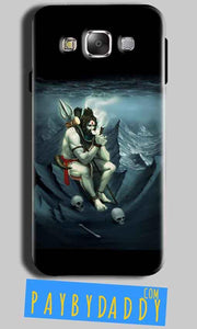 Samsung Galaxy Grand I9082 i9080 Mobile Covers Cases Shiva Smoking - Lowest Price - Paybydaddy.com