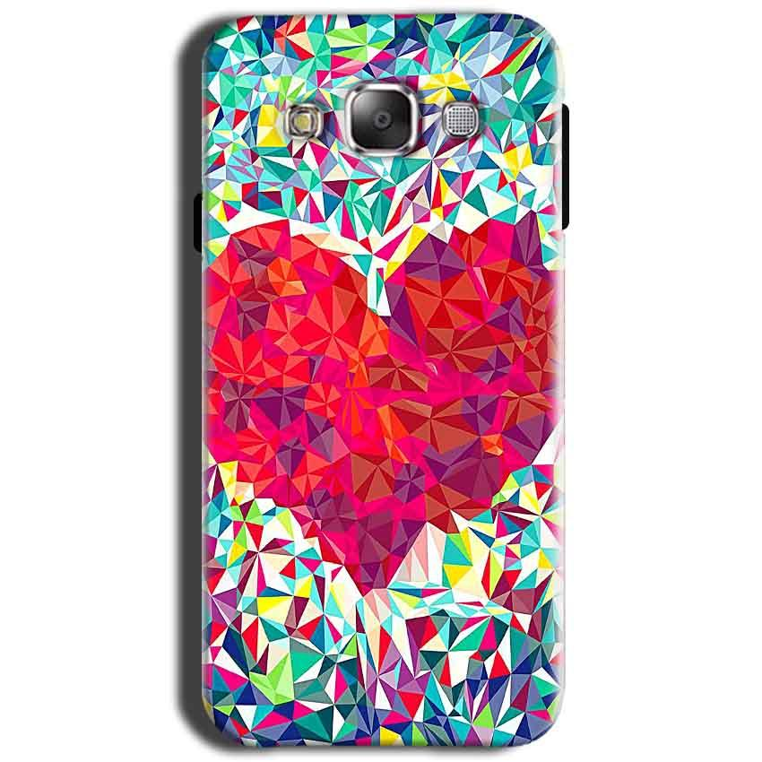 Samsung Galaxy Grand I9082 i9080 Mobile Covers Cases heart Prisma design - Lowest Price - Paybydaddy.com