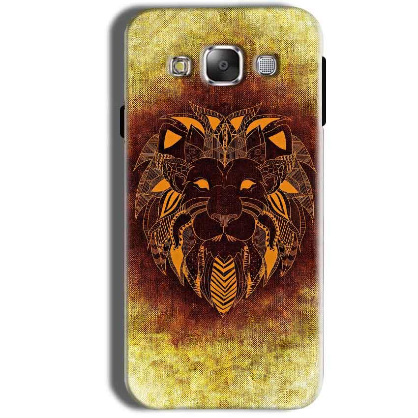 Samsung Galaxy Grand Prime G530 Mobile Covers Cases Lion face art - Lowest Price - Paybydaddy.com