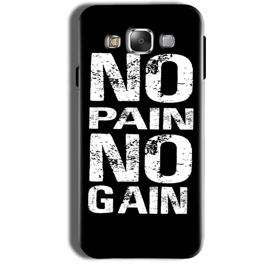Samsung Galaxy Grand Prime G530 Mobile Covers Cases No Pain No Gain Black And White - Lowest Price - Paybydaddy.com