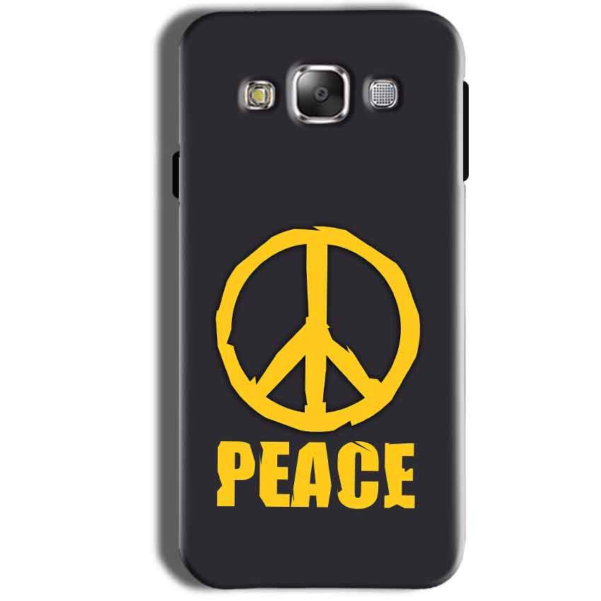 Samsung Galaxy Grand Prime G530 Mobile Covers Cases Peace Blue Yellow - Lowest Price - Paybydaddy.com