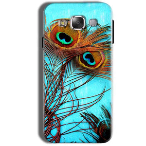 Samsung Galaxy Grand Prime G530 Mobile Covers Cases Peacock blue wings - Lowest Price - Paybydaddy.com