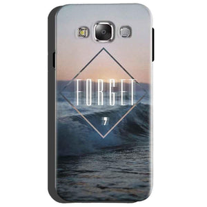 Samsung Galaxy Grand Quattro i8552 Mobile Covers Cases Forget Quote Something Different - Lowest Price - Paybydaddy.com